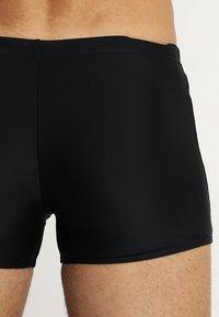 Speedo - GALA LOGO AQUASHORT - Swimming trunks - black/green - 1