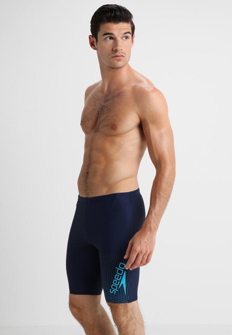 Speedo - GALA LOGO JAMMER - Swimming trunks - navy/windsor blue