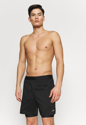 Shorts da mare - black/grey