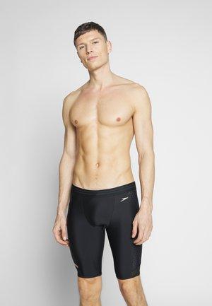 PANEL JAMMER - Swimming trunks - black