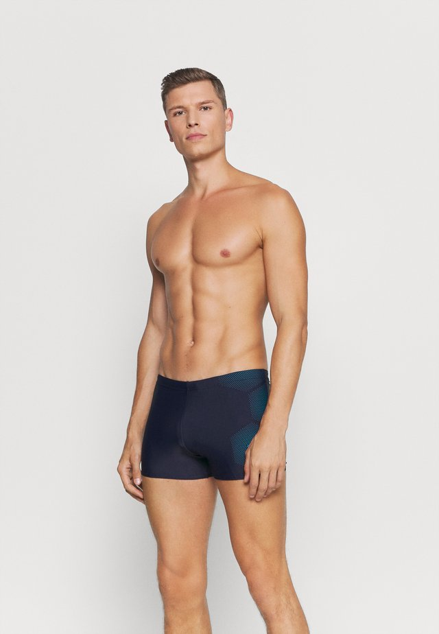 TECH PLACEMENT AQUASHORT - Zwemshorts - true navy/pool