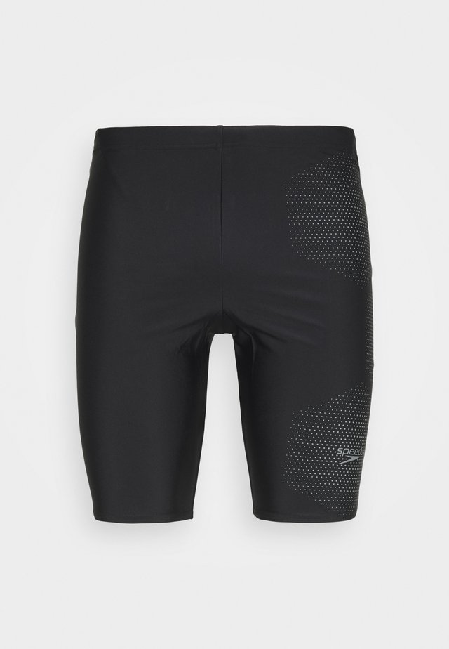 TECH LOGO JAM - Badeshorts - tech black/ardesia