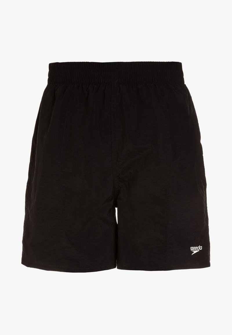 Speedo - SOLID LEISURE WAIST - Badeshorts - solid black