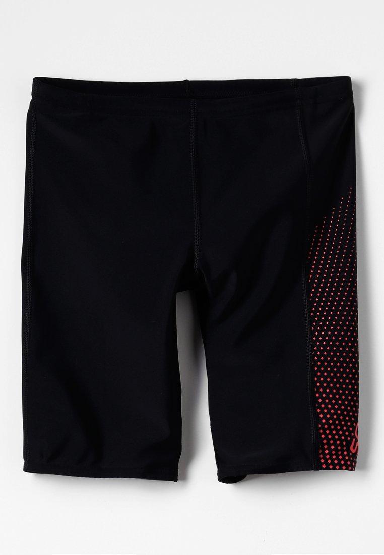 Speedo - GALA LOGO JAM - Shorts - black/red