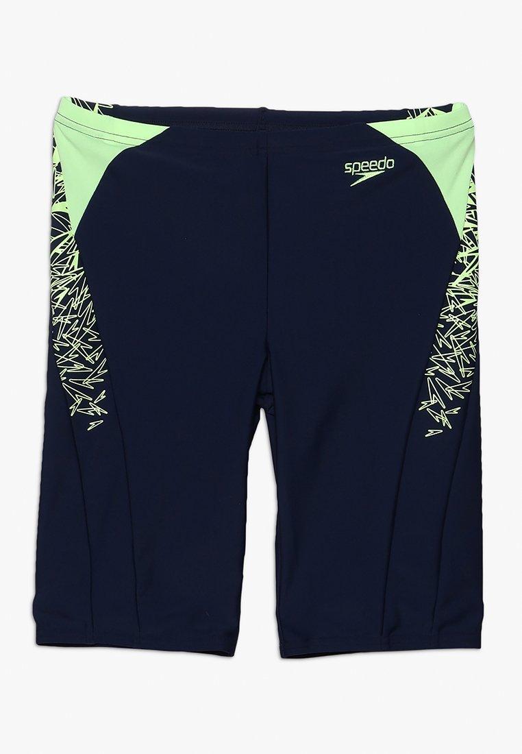 Speedo - BOOM JAM - Shorts - navy/green