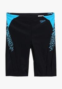 Speedo - BOOM SPLICE JAMMER - Swimming trunks - black/windsor blue - 0