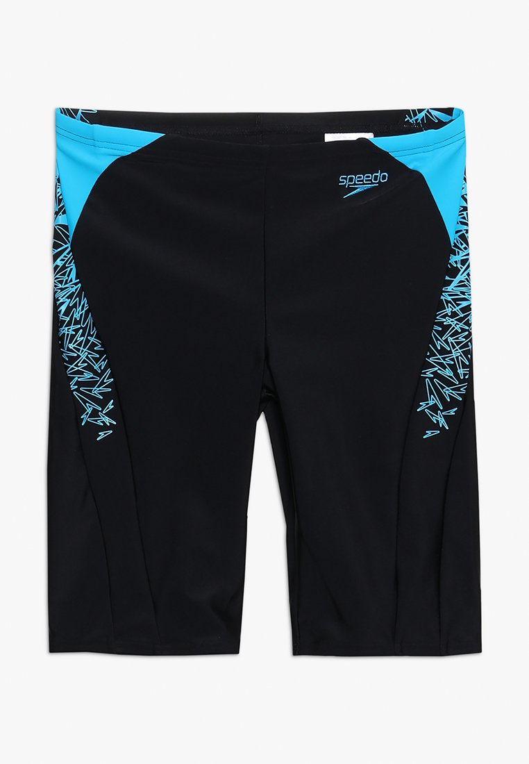 Speedo - BOOM SPLICE JAMMER - Swimming trunks - black/windsor blue