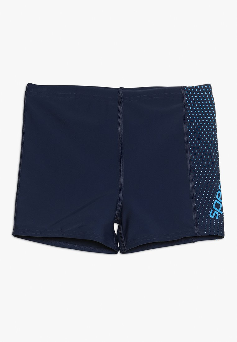 Speedo - GALA LOGO PANEL AQUA - Badeshorts - navy/blue