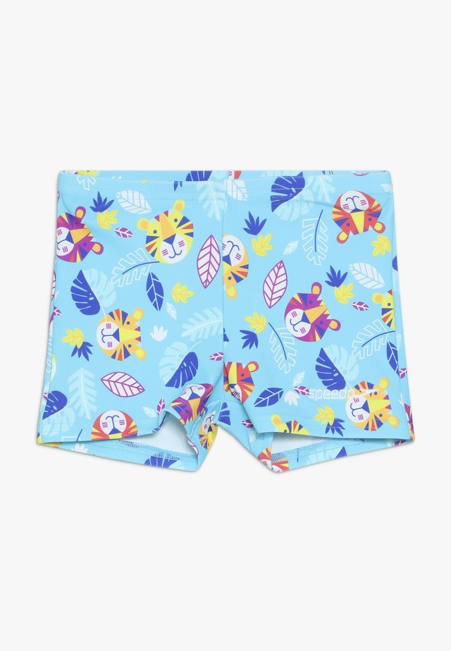 DIGI - Swimming trunks - turquoise/yellow