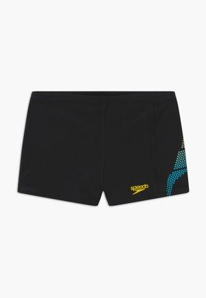 Uimahousut - black/turquoise/empire yellow