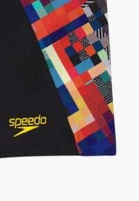 Speedo - DIGITAL - Uimahousut - black/white - 3