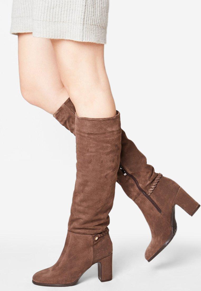 Usha - Botas con plataforma - brown