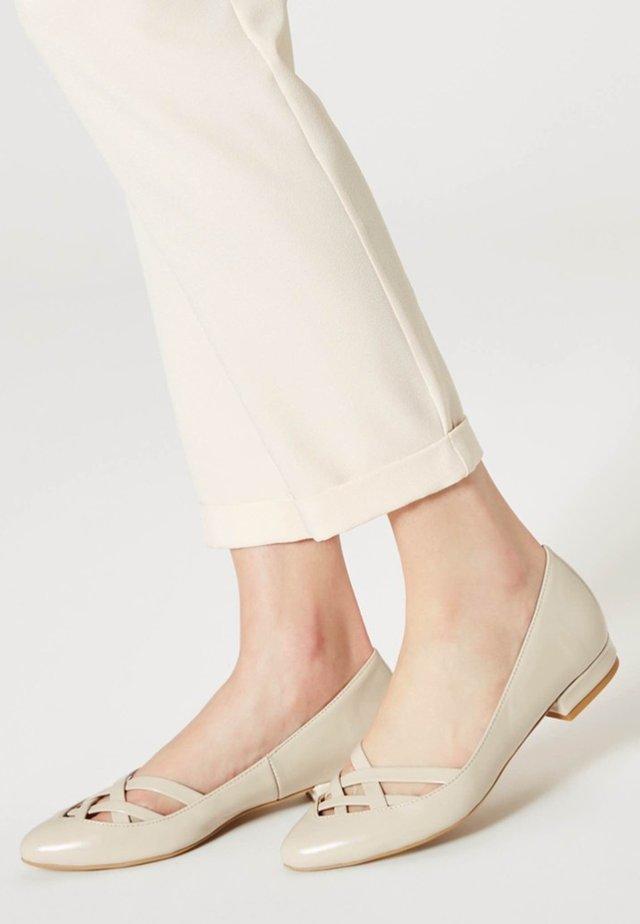 Ballerinasko - beige
