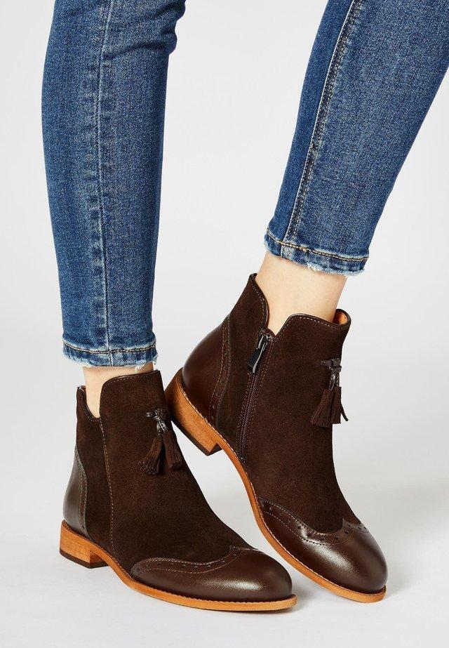 Bottines - brown