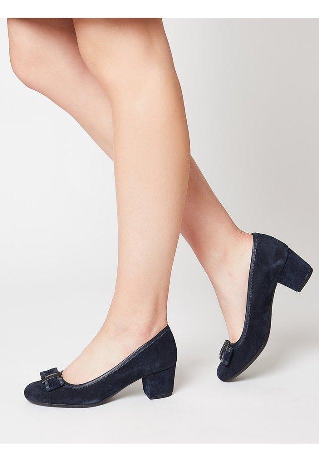 Classic heels - marine