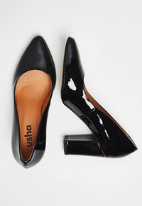 usha - Zapatos de plataforma - black - 2