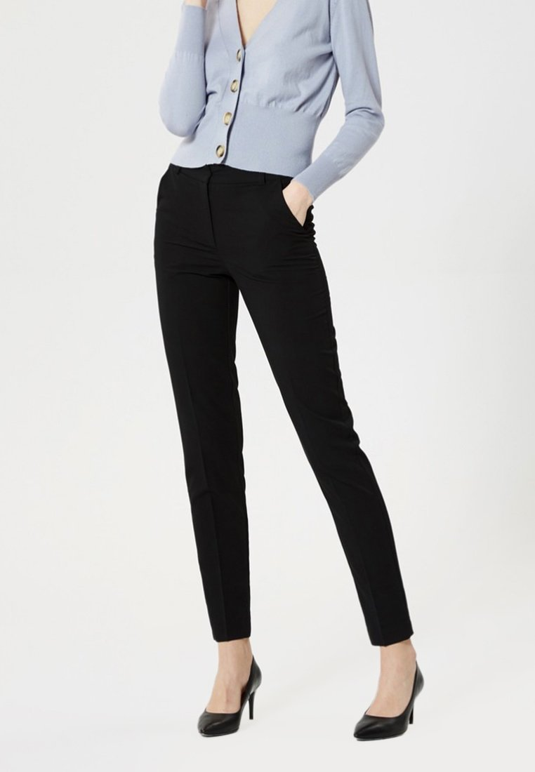 Usha - Trousers - black