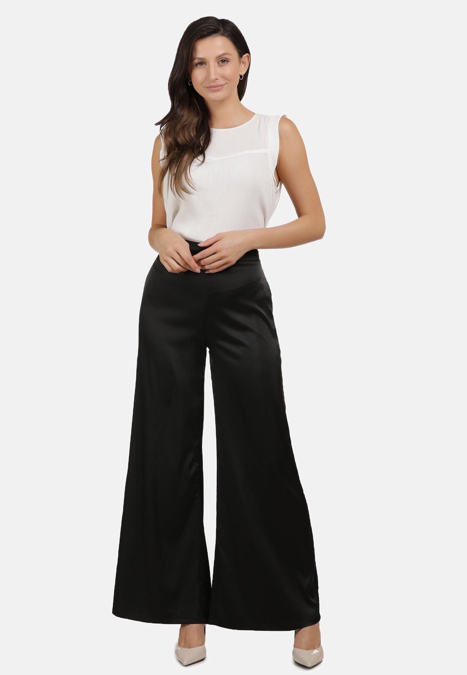 Usha Pantaloni - Black IyaEH