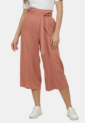 HOSE - Trousers - rost