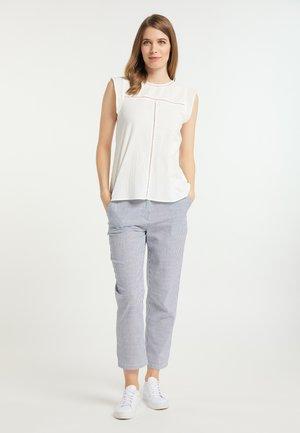 Trousers - blau weiss gestreift