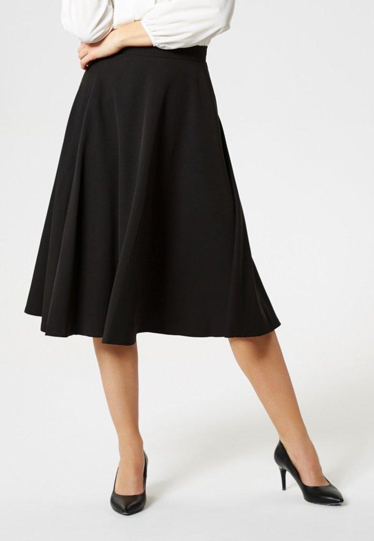 Usha - ROCK - A-line skirt - black