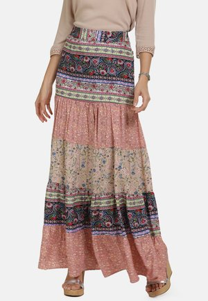 Maxi skirt - multi-colour