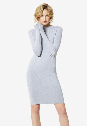 Jerseyjurk - light gray mel