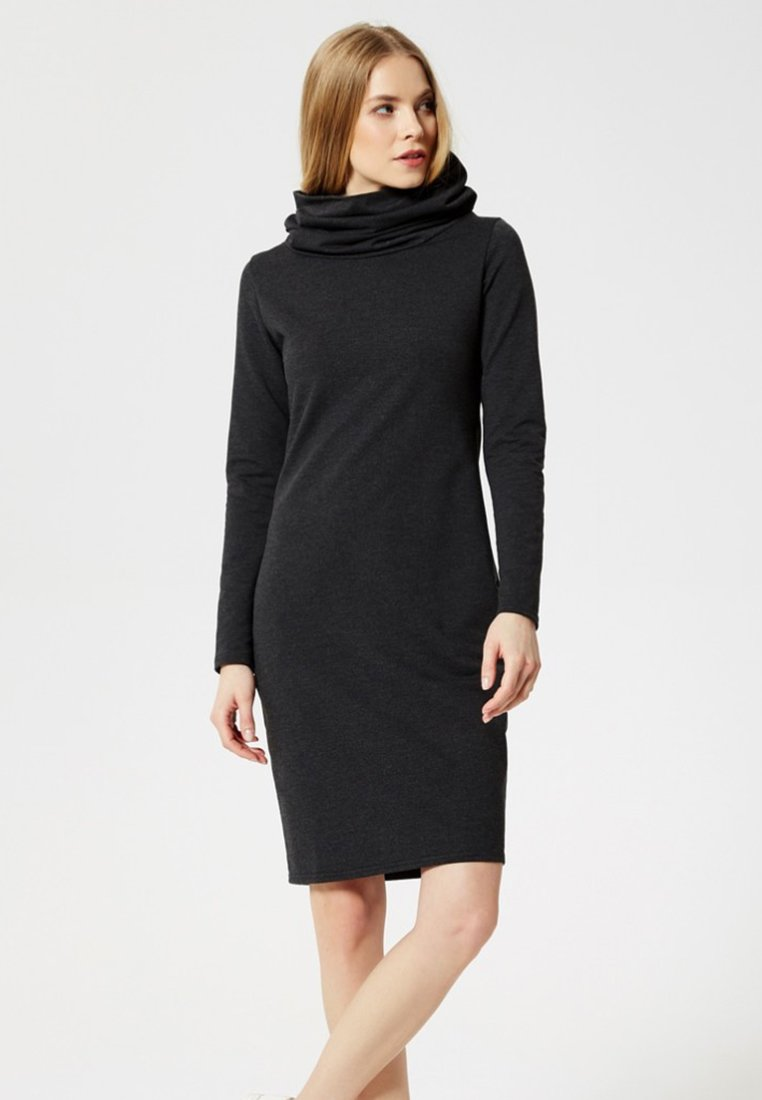 Usha - Jersey dress - anthrazit