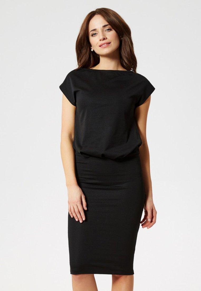 Usha - Fodralklänning - black