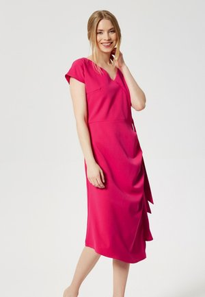 Vapaa-ajan mekko - dark pink