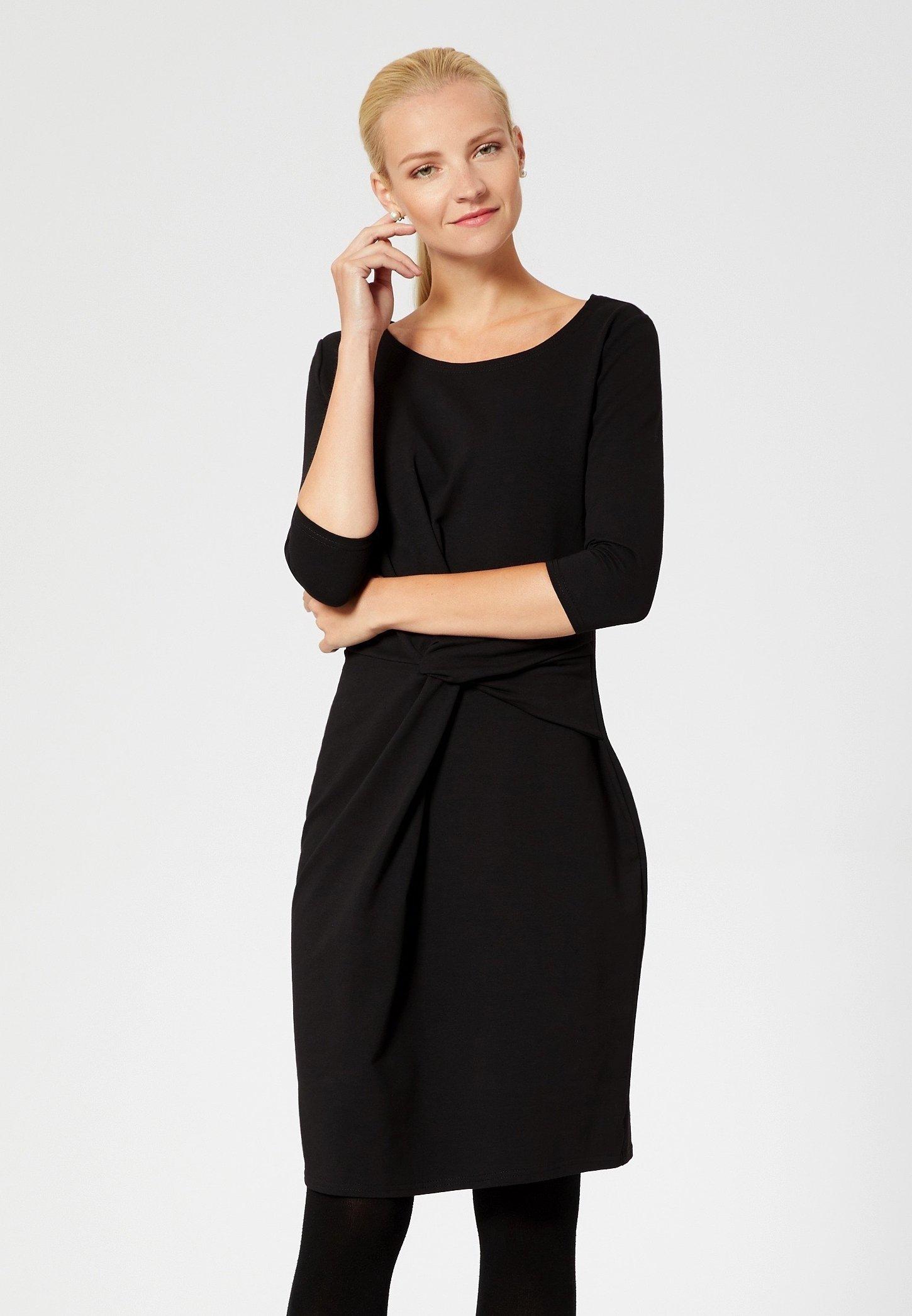 Usha Vestito di maglina - nero black