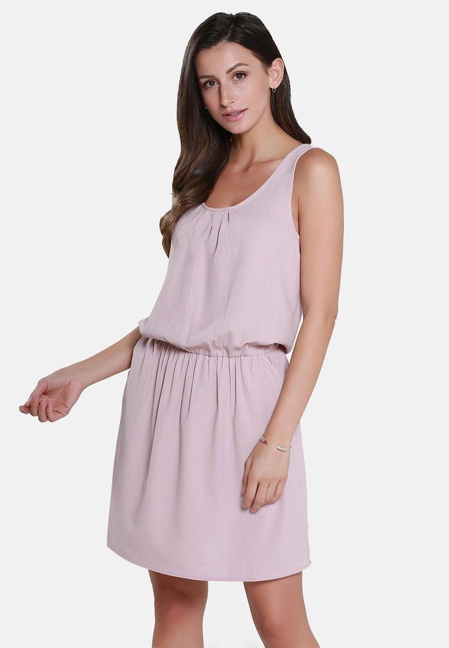 Sukienka letnia - light pink