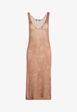 KLEID - Stickad klänning - pink
