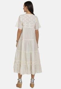 usha - MAXIKLEID - Robe d'été - white - 2