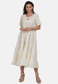 usha - MAXIKLEID - Robe d'été - white - 1
