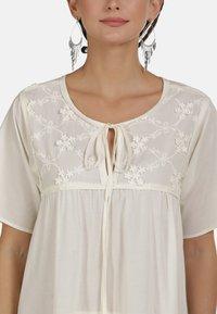 usha - MAXIKLEID - Robe d'été - white - 3