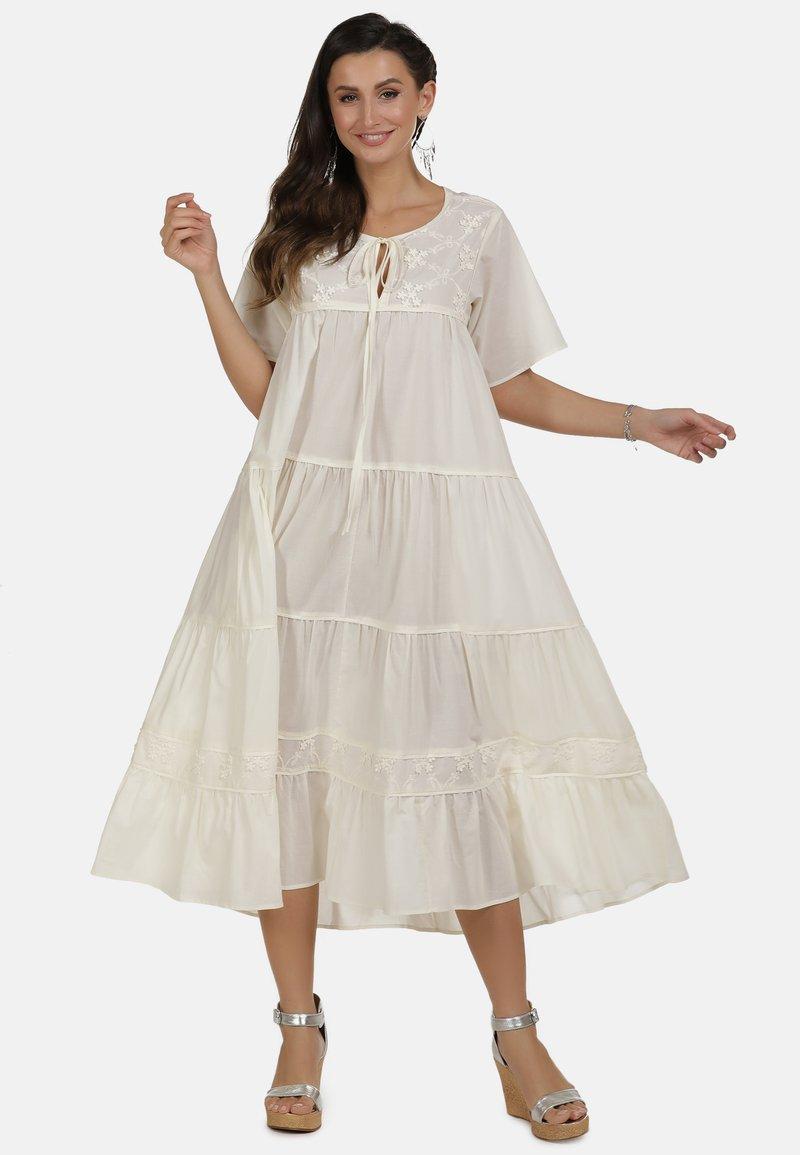 usha - MAXIKLEID - Robe d'été - white