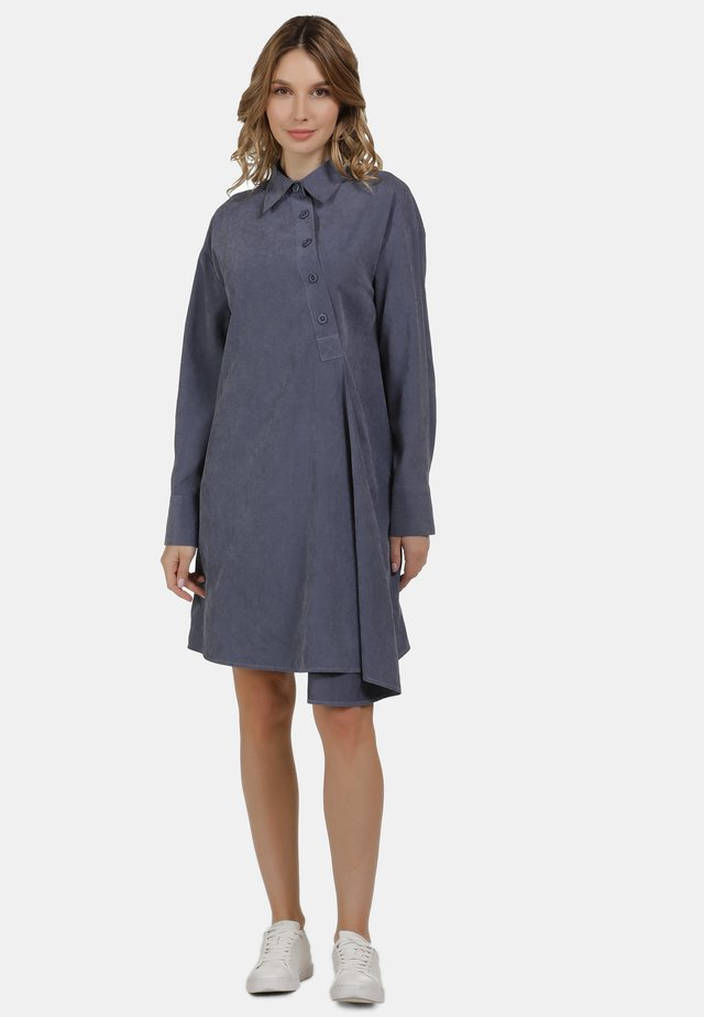BLUSENKLEID - Shirt dress - denim blue
