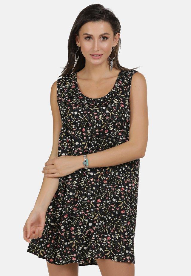 SOMMERKLEID - Day dress - black