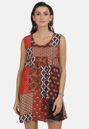 TUNIKAKLEID - Day dress - brown