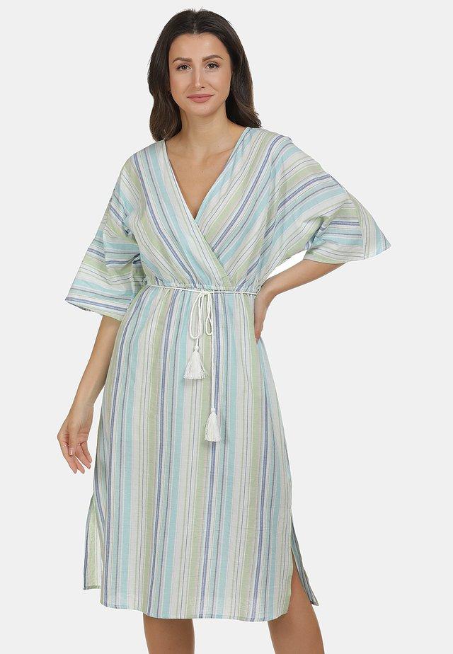 USHAKLEID - Korte jurk - wasser