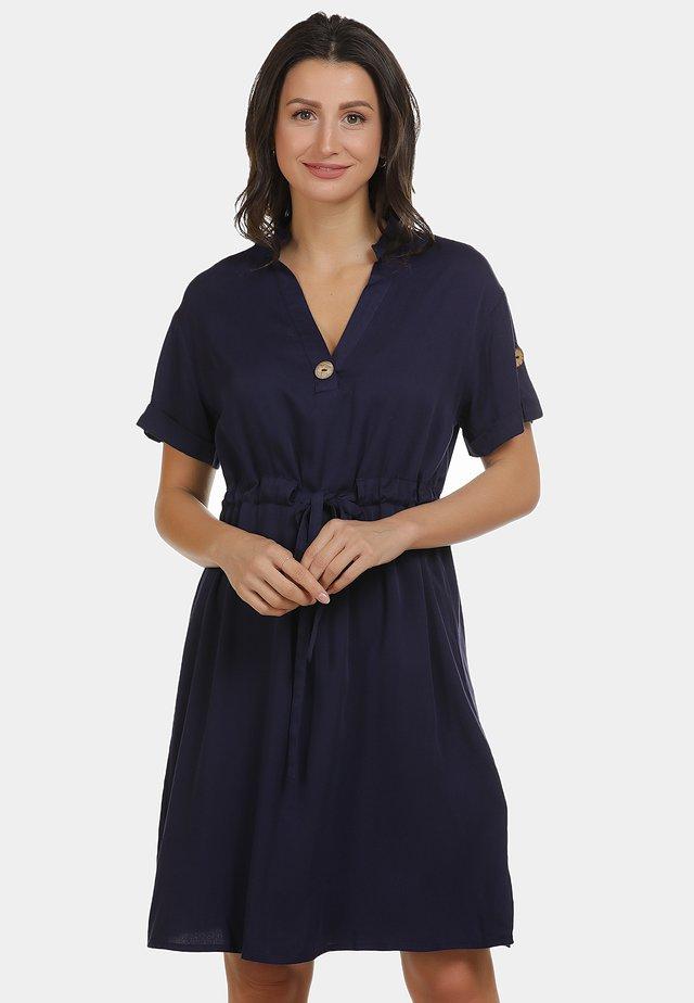 KLEID - Korte jurk - marine