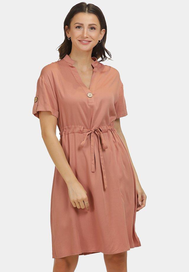 KLEID - Korte jurk - rost