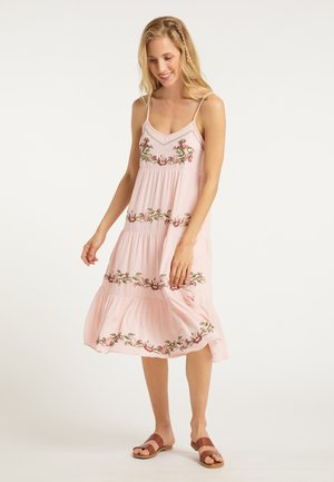 SOMMERKLEID - Korte jurk - rosa