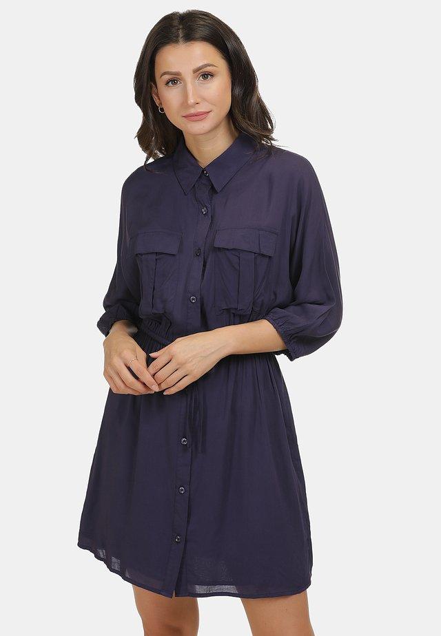 KLEID - Shirt dress - marine