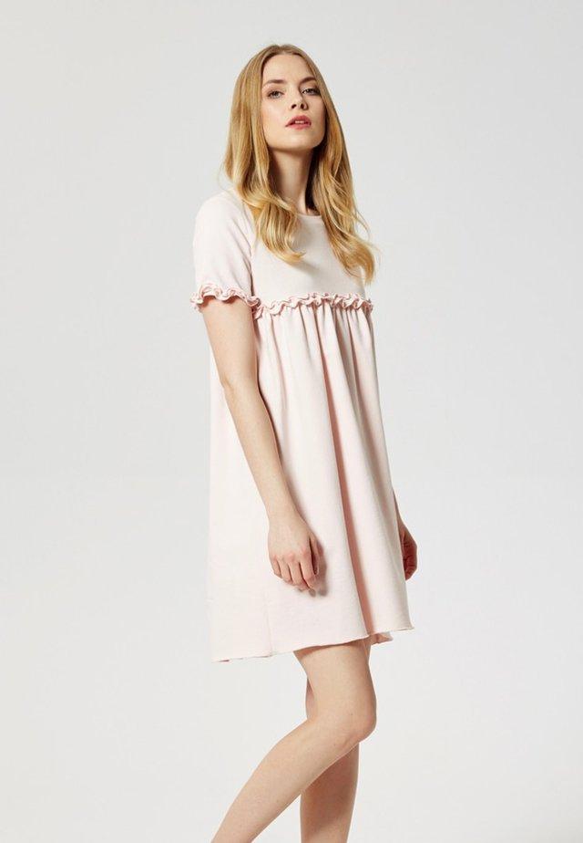 Jerseyjurk - puder pink