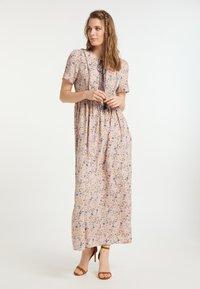 usha - Maxi-jurk - flower print - 1
