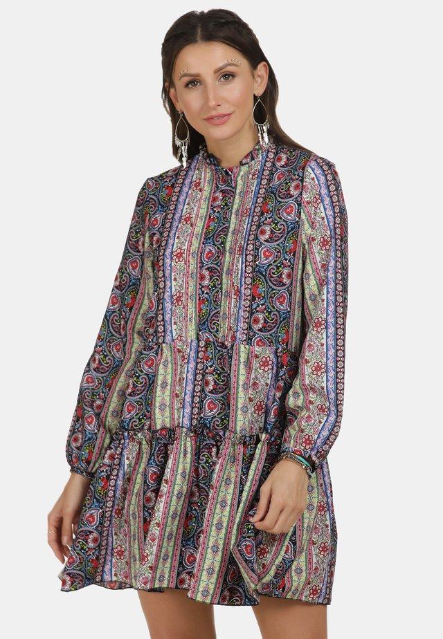 Shirt dress - flower print