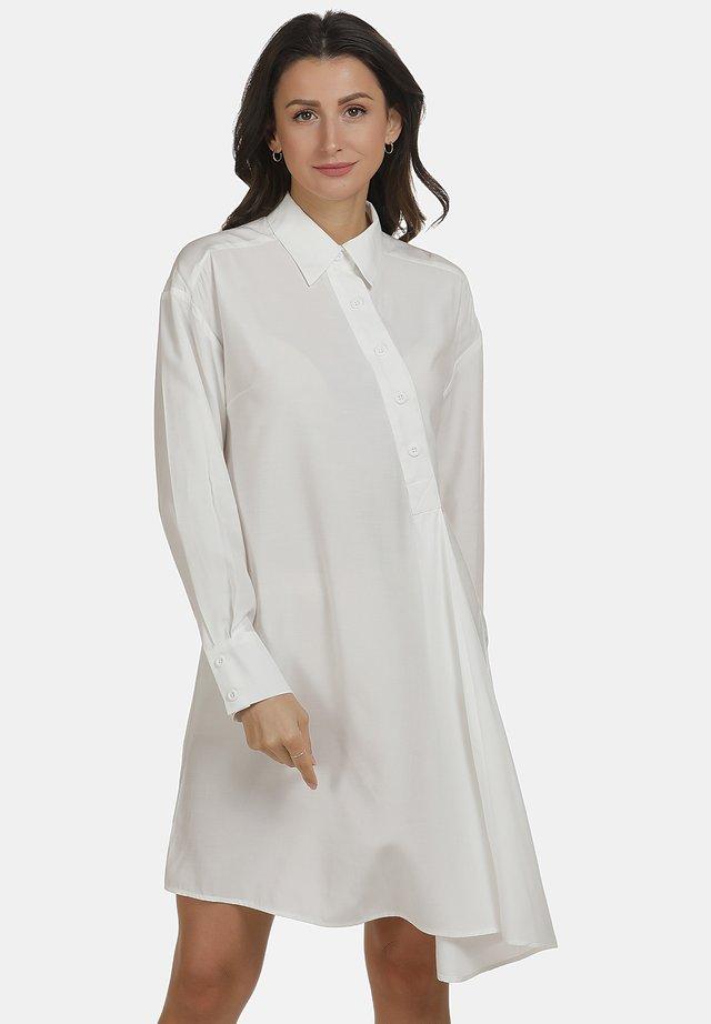 Shirt dress - wollweiss