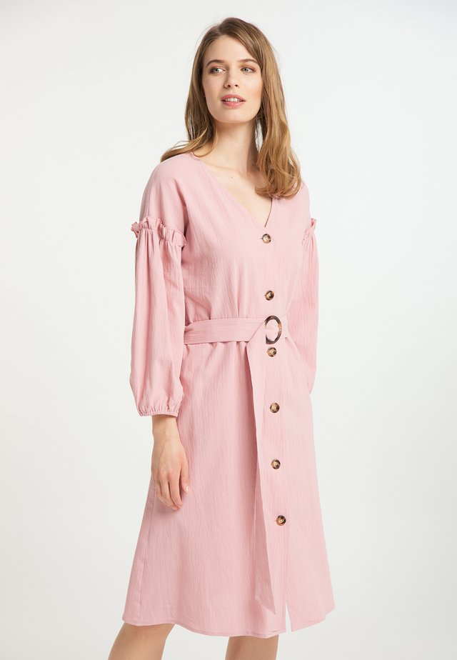 Shirt dress - rosa